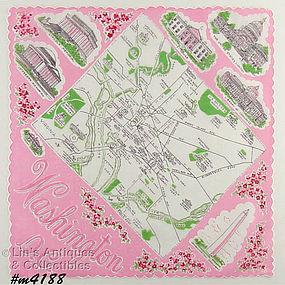 SOUVENIR HANDKERCHIEF, WASHINGTON, D.C.
