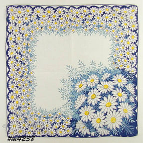 LOTS OF DAISIES HANDKERCHIEF