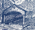 COVERED BRIDGE HANDKERCHIEF