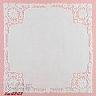 LACE EDGE WHITE WEDDING HANDKERCHIEF