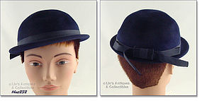 HENRY POLLAK NAVY BLUE HAT