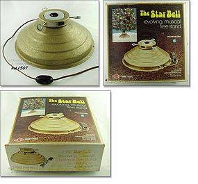 STAR BELL TREE TURNER WITH ORIGINAL BOX