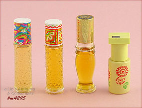 CHOICE OF VINTAGE AVON PERFUME ROLLETTES