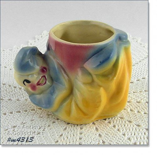 SHAWNEE POTTERY � JOJO THE CLOWN PLANTER