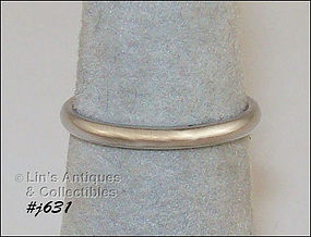 BENCHMARK 10K WHITE GOLD WEDDING BAND (SIZE 5 ¼)