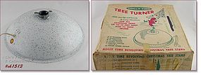 VINTAGE HOLLY TIME TREE TURNER / STAND