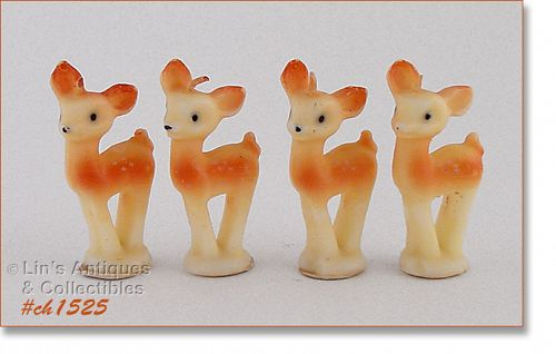 4 TAVERN COMPANY DEER CANDLES