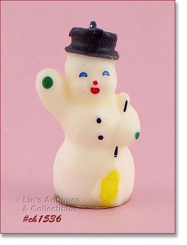 GURLEY SMALL SNOWMAN CANDLE