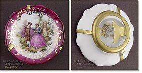 COURTING SCENE MINI PLATE (FRANCE)