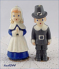 GURLEY CANDLE � PILGRIM BOY AND GIRL