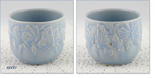 McCOY POTTERY � BUTTERFLY LINE SMALL JARDINIERE (2 ¾�)