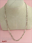 SILVER FIGARO NECKLACE (20�)