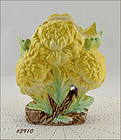 McCOY POTTERY � YELLOW CHRYSANTHEMUM VASE