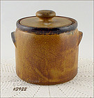 McCOY POTTERY � CANYON SMALL CANISTER