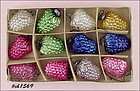 1 DOZEN GRAPE CLUSTER ORNAMENTS IN BOX (OCCUPIED JAPAN)