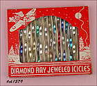 DIAMOND RAY JEWELED ICICLES IN ORIGINAL BOX