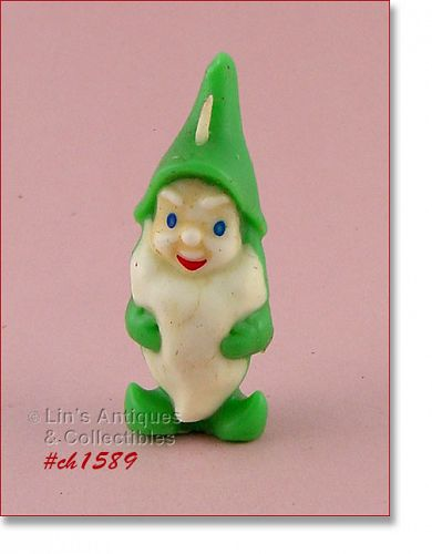 GURLEY � GREEN GNOME CANDLE