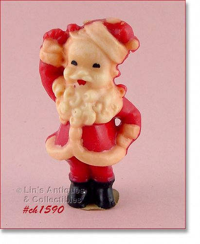 GURLEY � LARGE SANTA CANDLE