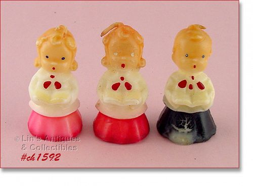 GURLEY � 2 CHOIRGIRL CANDLES