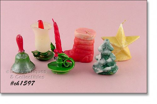GURLEY AND OTHERS � 6 ASSORTED CANDLES