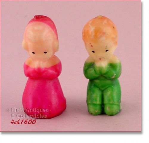 GURLEY � PRAYING BOY AND GIRL CANDLES