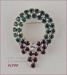 EISENBERG ICE � SMALL WREATH SHAPED PIN