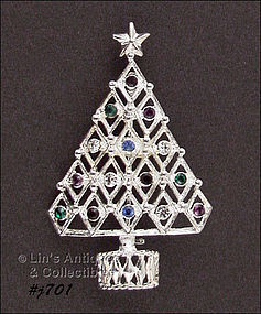 EISENBERG ICE � CHRISTMAS TREE PIN