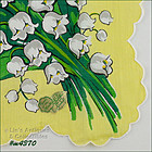 LILIES OF THE VALLEY HANDKERCHIEF