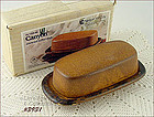 McCOY POTTERY � CANYON COVERED BUTTER (MIB)