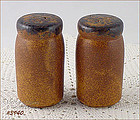 McCOY POTTERY � CANYON SALT AND PEPPER SHAKER SET