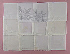 One Dozen White / Wedding Vintage Hankies (Lot #28)
