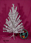 4 FT. EVERGLEAM ALUMINUM TREE AND COLORTONE COLOR WHEEL