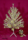 4 FT. PECO PINE GOLD COLOR ALUMINUM TREE PENETRAY WHEEL
