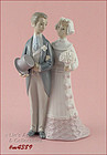 LLADRO' BRIDE AND GROOM FIGURINE No. 4.808