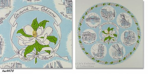 SOUVENIR HANKY �AROUND NEW ORLEANS�