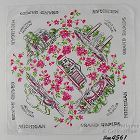 SOUVENIR HANDKERCHIEF, GRAND RAPIDS MICHIGAN