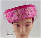 VINTAGE PINK HAT BY JAMI