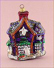 Retired Radko Howl Manor Haunted House Full Size Ornament
