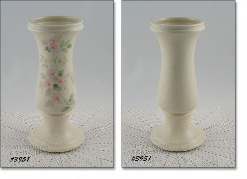 McCOY POTTERY � ROMANCE PATTERN TALL VASE
