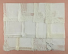 One Dozen Vintage Barely Imperfect White and/or Wedding Handkerchiefs