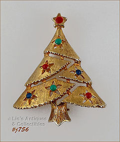 EISENBERG ICE LITTLE CHRISTMAS TREE PIN