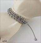 STERLING MULTI-LINK BRACELET 7 INCH LENGTH