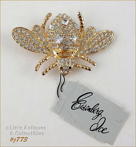 EISENBERG ICE � LARGE BUMBLE BEE SHAPED PIN