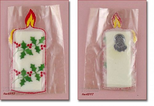 DESCO VINTAGE CHRISTMAS HANKY MINT IN ORIGINAL PACKAGE