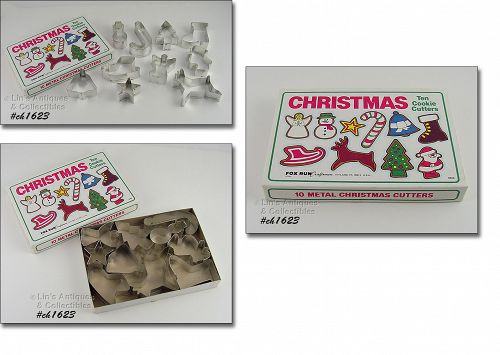 10 CHRISTMAS COOKIE CUTTERS