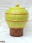 McCOY POTTERY -- VINTAGE HOT AIR BALLOON COOKIE JAR