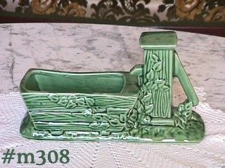 SHAWNEE POTTERY -- PUMP AND TROUGH PLANTER