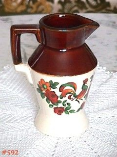 McCOY POTTERY -- YORKVILLE PITCHER
