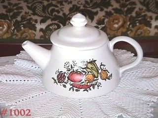 McCOY POTTERY -- SPICE DELIGHT TEAPOT (MINT CONDITION!)