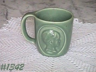McCOY POTTERY -- PHARMACY MUG (RHO-GAM)